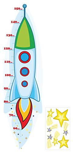 I-love-Wandtattoo Sticker mural M de 13?010 Chambre d'enfant Univers à coller, étiquetez, et toise personnalisable autocollant sticker mural mural décoratif pour
