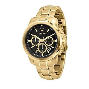 Reloj para Hombre, Colección Successo, cronografo, en Acero y PVD Oro