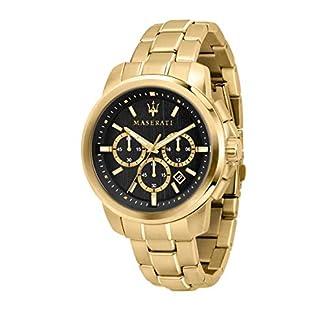 Reloj para Hombre, Colección Successo, cronografo, en Acero y PVD Oro Amarillo – R8873621013