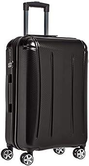 AmazonBasics Oxford Expandable Spinner Luggage Suitcase with TSA Lock - 24 Inch, Black