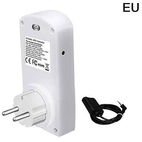 AUTOECHO für TS-5000 Temperatur und Luftfeuchtigkeit Timer Steckdose mit Wifi Intelligente Familie Sicherheit Fernbedienung Timing Outlet Switch -