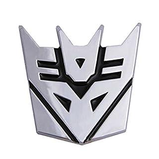 Dodolive Auto Dekoration Transformers Aufkleber Logo Metall 3D Decepticon Emblem Badge Aufkleber Truck Auto Styling Car Styling Covers