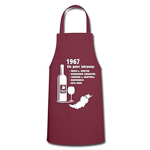 50. Geburtstag 1967 Guter Jahrgang Frisch Spritzig Kochschürze von Spreadshirt®, Bordeaux