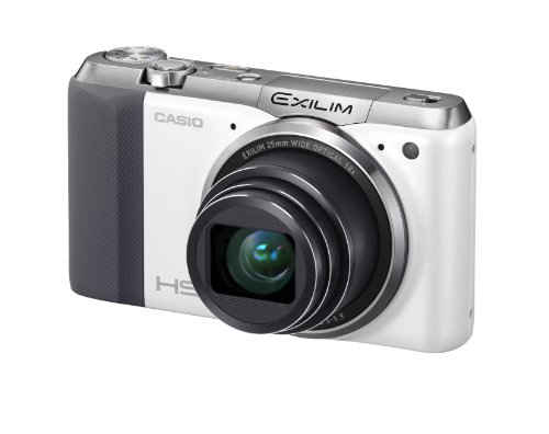 Casio Exilim EX-ZR700 Digitalkamera (16,1 Megapixel, 7,6 cm (3 Zoll) Display, 36-fach Multi SR Zoom, Triple Shot, HDR) weiß