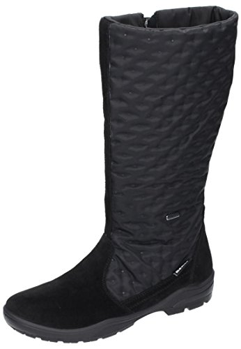 Manitu Polartex Damen Stiefel, Schneeboots schwarz 990848-1 schwarz