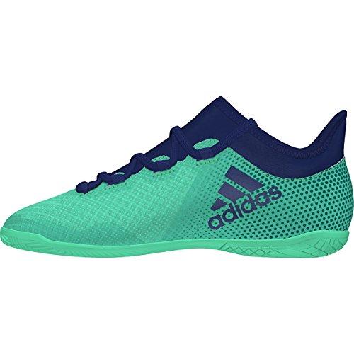 adidas X Tango 17.3 Indoor, Zapatillas de Fútbol Unisex Niños, Verde grün/Blau, 35.5 EU