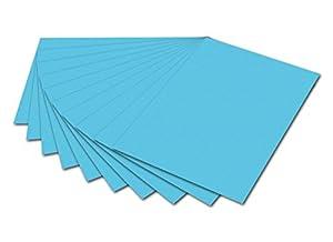 Max Bringmann Folia 6130 Foto 50x70 cm de cartón, 300 Gramos, 10 Hojas Paquete de Cielo Azul Importado de Alemania