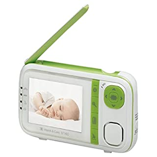 Audioline Watch & Care V160 Video Baby Monitor with night light and contrasting function