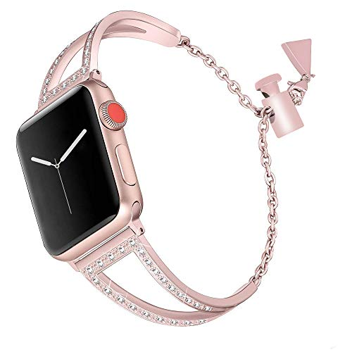 Aottom pour Bracelet Apple Watch Series 4 40mm,Bracelet Montre Apple Watch 38mm Series 3 Bracelet iWatch 40mm Bande Remplacement de Bracelet Apple Watch Series 2 Accessories pour Apple Watch 40mm/38mm