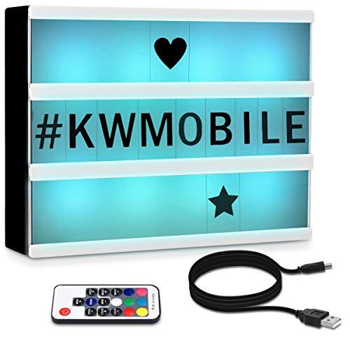 Kwmobile Caja luz cinematográfica LED A4 - Light