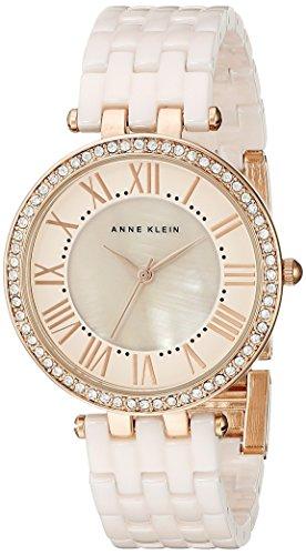 ak-anne-klein-bracciale-largo-da-donna-zircone-2130rglp-con-cristallo-swarovski-oro-rosa-e-oro-con-c