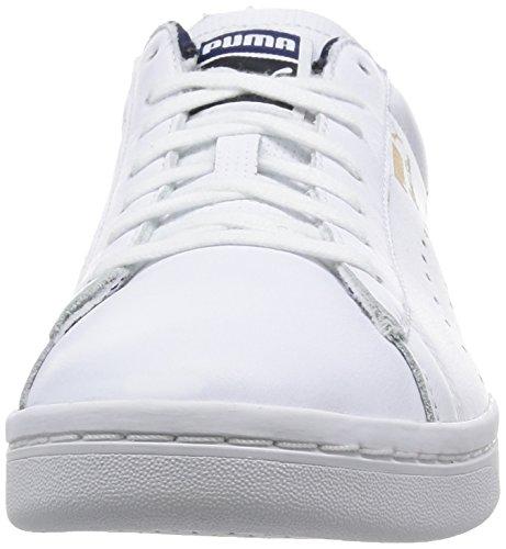Puma Court Star Craft S6 - Scarpe da Ginnastica Basse Unisex adulti Bianco (Blanc (White/Peacoat))