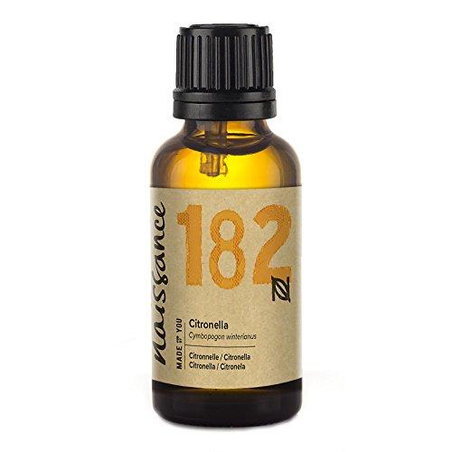 Naissance Aceite Esencial de Citronela n. º 182 - 30ml - 100% puro, vegano y no OGM