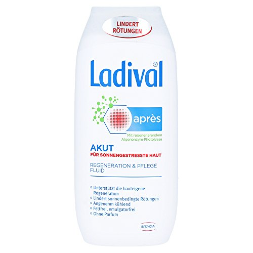 Ladival akut après für sonnengestresste Haut - Regeneration & Pflege Fluid, 200 ml Fluid