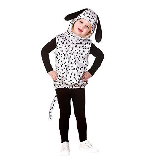 Kinder Unisex Tier Wappenrock 3-5 Jahre (Dalmatiner Hund)