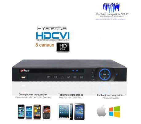 Dahua-Hybrid Video Recorder 8-Kanal DVR 720P und 1080p HDCVI-dvr-hyb-270 Hybrid Video Recorder