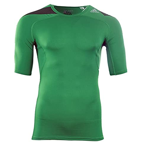 Adidas Techfit Powerweb T-Shirt grün
