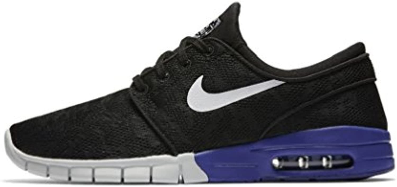 Nike Men's Stefan Janoski Max Black/White/Deep NightSneakers   6