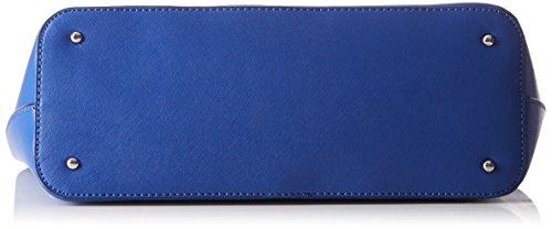 Indovina Damen Hwvy6693230 Shopper, 14.5x24.5x34.5 Cm Blau (blu)