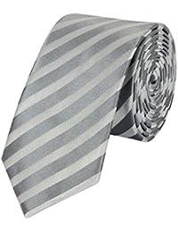 Seidenweiche Fabio Farini Krawatte 6 cm in verschiedenen Farben, für Hochzeit Buisness