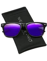 Polarizadas plano Espejo reflectante Revo lente de color Tamaño Grande con  borde de cuerno estilo gafas 22ca4f82f59b