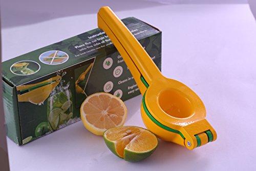Tendisk amarillo limón exprimidor exprimidor exprimidor de zumo de nuevo de metal PREMIUM