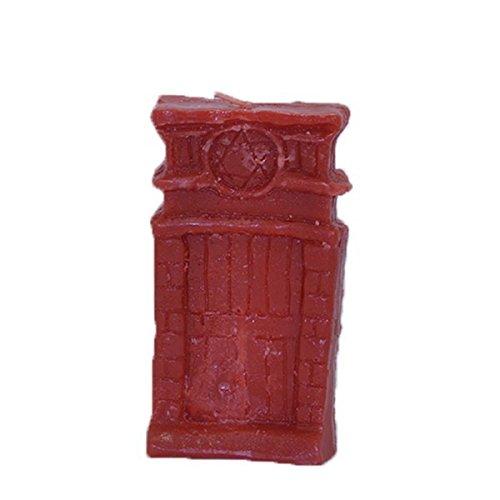 Aromasenses Vela esotérica para rituales Puerta Abre Caminos ROJA 15 cm