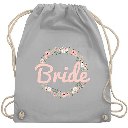 Sport Tag Kostüm - JGA Junggesellinnenabschied - Bride Blumenkranz rosé