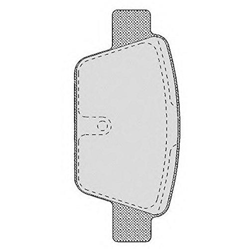 PE07680RB-7568 Kit pastiglie freno Posteriore Permafuse