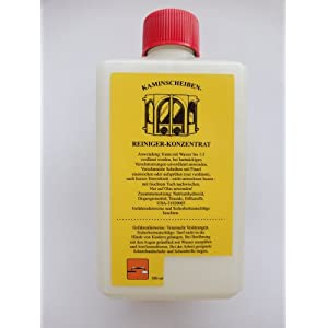 Chimenea de limpiacristales concentrado 500 ml
