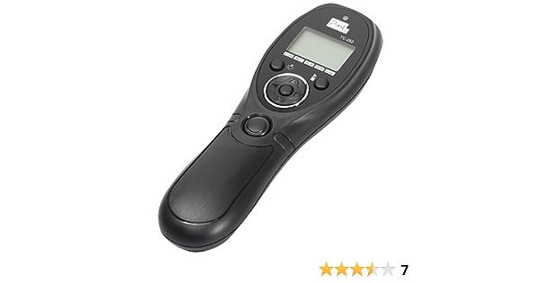 Pixel Tc 252 S1 Lcd Timer Fernauslöser Für Sony Alpha Kamera