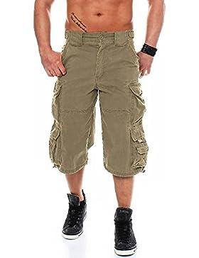Jet Lag Herren Shorts 007 3/4-lang, Cargoshorts