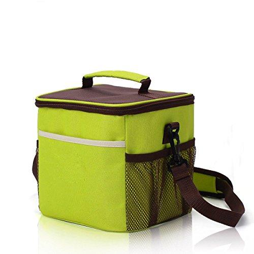 Tragbare Eisbeutel Verdickung Oxford Tuch Outdoor-Inkubator Picknick-Taschen Camping Schule Mittagessen Tasche