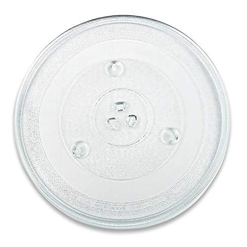 Mikrowellenteller rund Glasteller Drehteller Ersatz Teller 315 mm