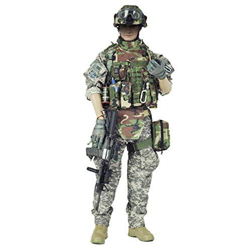 DUS Figuren Zubehör US Army Soldaten Uniform für 1/6 Soldat 1:6 SWAT Actionfigur Soldaten Modell (Körper und Kopf Nicht Enthalten)