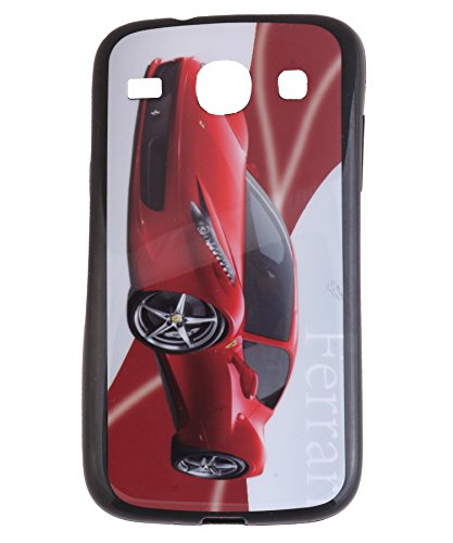 iCandy Matte Finish Soft Rubber Printed Back Cover for Samsung Galaxy Core Duos I8260 /8262 - Ferrari  available at amazon for Rs.99