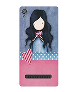 Techno Gadgets back Cover for Micromax Vdeo 4