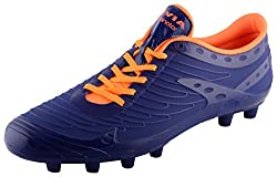 Nivia Dominator Mens Blue PU Football Shoes - 7 UK