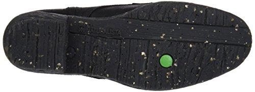 El Naturalista Nc57 Wax Black/Quera, Bottes Chukka Femme Noir (Black)