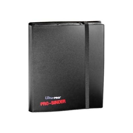 Ultra-Pro-82600-Pro-Binder-Sammelalbum-9-Taschen-pro-Seite-fr-360-Karten-schwarz Ultra Pro 82600 – Pro-Binder Sammelalbum, 9 Taschen pro Seite, für 360 Karten, schwarz -