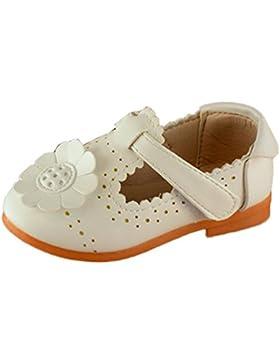 Igemy 1Paar Kinder Blume Mädchen Blumen Prinzessin Fashion Single Schuhe