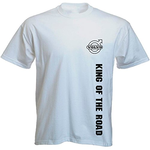 volvo-trucker-t-shirt-king-of-the-road-sw-blanc-medium