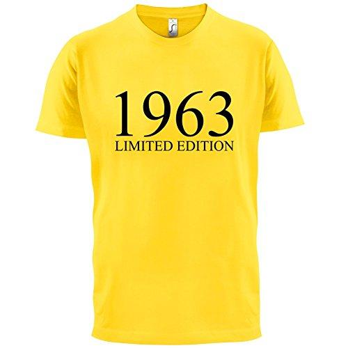1963 Limierte Auflage / Limited Edition - 54. Geburtstag - Herren T-Shirt - 13 Farben Gelb
