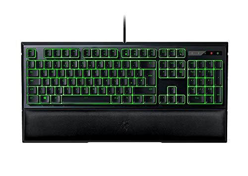Razer Ornata Expert: Mecha-Membran - individuell beleuchtete mittelhohe Tasten - Kunstleder-Handgelenkauflage - Gaming-Tastatur (Alienware Wireless Keyboard)