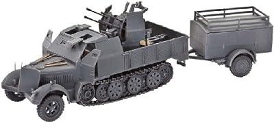 Revell Modellbausatz Panzer 1:72 - Sd.Kfz. 7/1 im Maßstab 1:72, Level 4, originalgetreue Nachbildung mit vielen Details, 03195 von Revell