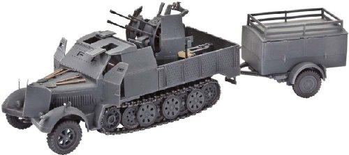 Revell Modellbausatz Panzer 1:72 - Sd.Kfz. 7/1 im Maßstab 1:72, Level 4,