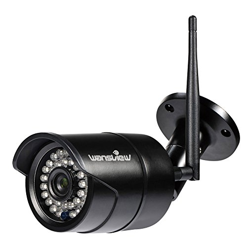 Wansview Outdoor 720P/1080P WiFi Wireless IP Security Bullet Camera ,IP66 Weatherproof, Night Vision