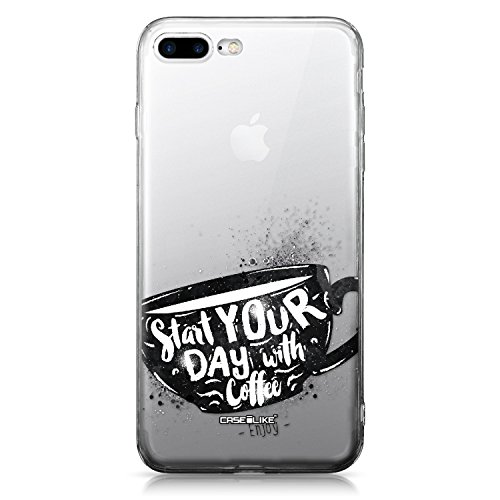 CASEiLIKE iPhone 7 Hülle, iPhone 7 TPU Schutzhülle Tasche Case Cover, Comic Beschriftung 2914, Kratzfest Weich Flexibel Silikon für Apple iPhone 7 Zitat 2402