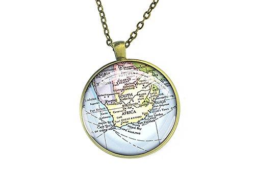 1987-vintage-sud-africa-mappa-collana-ciondolo-in-argento-regalo-forever-love-per-madre