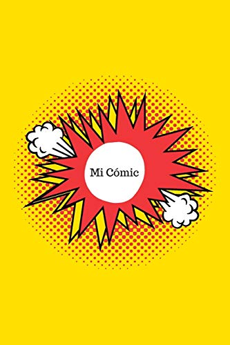 Mi Cómic: Crea tu Propio Cómic | Con Viñetas en Blanco | 110 Páginas | Distintas combinaciones de viñetas | Libro en blanco para crear tu propio Cómic | Regalo perfecto para amantes del Cómic